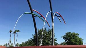 Rainmaker Fountain